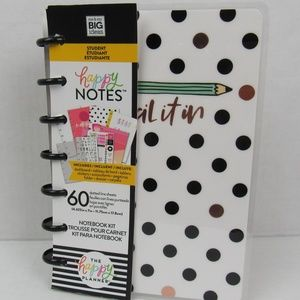 NWT Student Happy Notebook kit